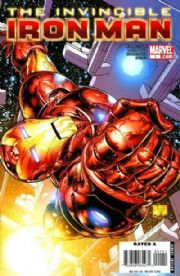 Invincible Iron Man #1 Cover B Quesada (2008) Marvel comic book